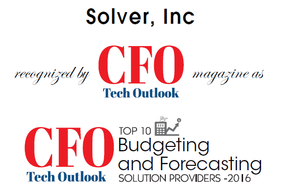 Top 10 Budgeting and Forecasting Solutions - 2016 CFO Tech Outlook
